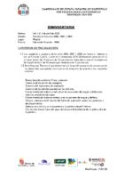 CONVOCATORIA C. España INF. WP FFAA 2020