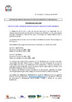 CONVOCATORIA CONCENTRACIÓN PERIODICA 2019-2020