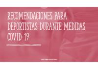 FNCV Mantenimiento Físico Deportistas