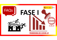 FAQs Deporte (Fase 1). Actualizadas 31.05