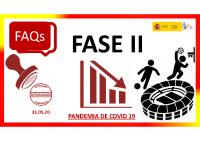 FAQs Deporte (Fase 2). Actualizada 31.05