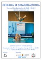 Cartel Exibición Artística Valladolid 2020