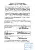ACTA Nº 3 DE LA JUNTA ELECTORAL FEDERATIVA DE LA FEDERACION DE CASTILLA Y LEON DE NATACION firmado