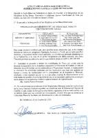 ACTA Nº 4 DE LA JUNTA ELECTORAL FEDERATIVA DE LA FEDERACION DE CASTILLA Y LEON DE NATACION