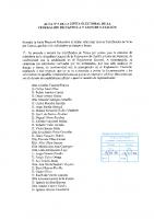 ACTA Nº 5 DE LA JUNTA ELECTORAL FEDERATIVA DE LA FEDERACION DE CASTILLA Y LEON DE NATACION firmado