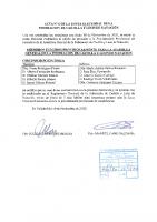 ACTA Nº 6 DE LA JUNTA ELECTORAL FEDERATIVA DE LA FEDERACION DE CASTILLA Y LEON DE NATACION firmado