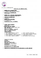 Resultados 1ª Jornada I Control RFEN Salamanca