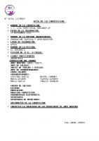 Resultados 1ª Jornada Liga Benjamín Ávila