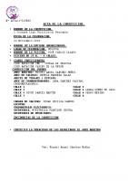 Resultados 1ª Jornada Liga Benjamín Segovia