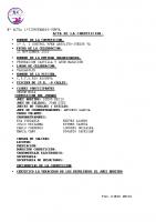 Resultados I Control RFEN Absoluto Valladolid