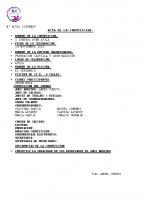 Resultados I Control RFEN Ávila