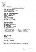 Resultados I Control RFEN Benavente Absoluto Junior
