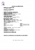 Resultados I Control RFEN Segovia