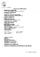 Resultados 2ª Jornada Control Marcas Infantil Invierno Aranda