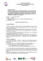 INSTRUCCIONES TÉCNICAS C. CyL INF INV