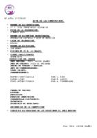 Resultados 2ª Jornada Liga Alevín Burgos