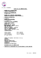 Resultados 2ª Jornada Control Prebenjamin Salamanca