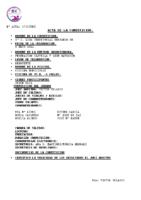 Resultados 5ª Jornada Liga Benjamín Benavente