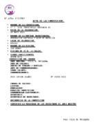 Resultados 6ª Jornada Liga Benjamín Burgos