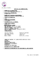 Resultados 6ª Jornada Liga Benjamín León
