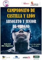 Cartel CAMPEONATO ABSOLUTO Y JUNIOR VERANO 2021