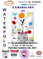 Cartel Exhibición Waterpolo 21